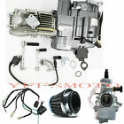 LIFAN 150CC 4 Stroke Motor Engine + Wires For XR50 CRF50 CRF70 SL90 CT70 SDG SSR