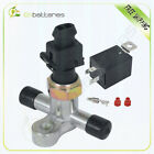 Electric Brake Vacuum Pump Switch + Relay + Check Valve For Brake Booster