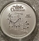 Peanuts Charlie Brown Christmas Snoopy 2020 55th year 1 oz 999 Silver Coin New