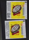1977 TOPPS FOOTBALL WRAPPER Lot 0f 3 Different in Excellent Shape