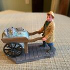 Lemax Christmas Village Fisherman With Fishcart
