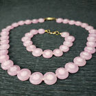 Venetian Pink Millefiori Knotted Round Flat Glass Bead Necklace Bracelet