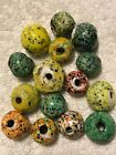Rare Old and Real Glass Venetian End Of Day Beads
