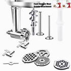 Food Meat Grinder Attachment For Kitchenaid Stand Mixer Accessories Oval tray
