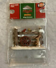 Lemax - Rustic Wood Fence - Holiday Village Accessory - #44760 - 2014 - Retired