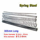 305mm Long Compression Springs 65mn Spring Steel Wire Dia 0.3-6mm Od 3-50mm