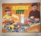 Vintage Matchbox 1972 City Playset Carry Case