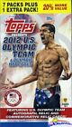 2012 Topps USA Olympics Factory Sealed Blaster Box- Look for Michael Phelps Auto