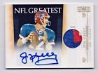 Jim Kelly Autograph Patch 15 2011 Playoff National Treasures Jersey Auto Bills