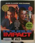 Double Impact MVD Rewind Blu ray with Slipcover  Poster Jean Claude Van Damme