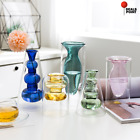 Nordic Style Clear Glass Flower Vase Decoration Home Hydroponic Plant Vases