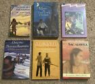 Lot of 6 childrens books about Native Americans Pocahontas Squanto Sacajawe