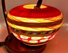 Sunset One of Kind Murano Art Glass Vase by Massimiliano Schiavon  Light Box
