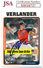Justin Verlander Cards, Rookie Cards and Autograph Memorabilia Guide 67