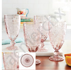 8 Glasses The Pioneer Woman Amelia Rose Tea Drinking Goblets Drinkware 2 Set