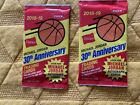 2 Factory Sealed Fleer 30 Anniversary RED Packs 2019 HANES Michael Jordan READ