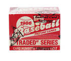 1986 Topps Traded Baseball Set BBCE Wrapped FASC (From A Sealed Case) - Bonds RC