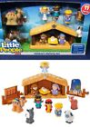 New LITTLE PEOPLE Childrens NATIVITY SET Fisher Price CHRISTMAS 11 Figures