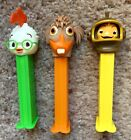 PEZ RETIRED DISNEY CHICKEN LITTLE, FISH OUT OF WATER & LITTLE ABBY 3/SET - MINT
