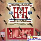 2013 Panini Hometown Heroes Baseball HUGE Factory Sealed HOBBY Box-3 AUTOGRAPHS