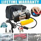 HEAVY DUTY POWERFUL 300psi 12V ELECTRIC CAR TYRE INFLATOR AIR COMPRESSOR PUMP