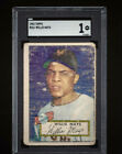 ⚾ 1952 TOPPS #261 WILLIE MAYS PSA Rookie RC HOF! + 1951 Bowman Mickey Mantle RE