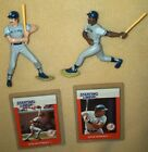 1988 Starting Lineup figure lot w/cards- Don Mattingly + Dave Winfield  YANKEES