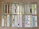 Lot of 28 Sizzix border die cut dies All are brand new and never been used