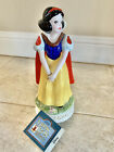 Vintage Schmid Music Box Snow White Glass Figurine Someday My Prince Will Come