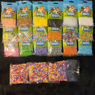 Perler Beads Lot of 18 Packs of 1000 Beads Plus 3 Larger Bags Beads Unopened New
