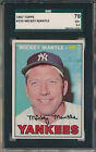 Comprehensive Guide to 1960s Mickey Mantle Cards 206