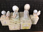 Precious Moments Figurines Assorted lot of 4 Pieces With Boxes