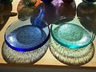 Fire And Light Recycled Glass Appetizer Plates 80 Each Available May 12th