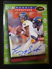 Geno Smith Signs Football Card and Autograph Deal with Panini America 20
