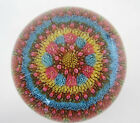 1969 BACCARAT Concentric Millefiori Paperweight Closely Packed