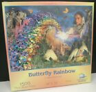 BUTTERFLY RAINBOW DAVID PENFOUND 1500 PIECE JIGSAW PUZZLE NATIVE AMERICAN NEW A5