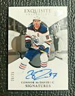 🔥CONNOR McDAVID 2018-19 UD EXQUISITE COLLECTION ON CARD AUTOGRAPH 25!🔥OILERS