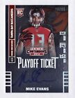 Mike Evans Rookie Autograph 99 2014 Panini Contenders Playoff Ticket 236 RC Auto