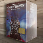 Game of Thrones: The Complete Series Season 1-8 (DVD,38-Disc Box Set) 123456 7 8