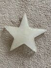 Estate Cenedese Vetri Murano Art Glass Star Paperweight Signed  Label