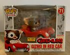 Funko Pop! Rides Gremlins Gizmo in Red Car Hot Topic Exclusive