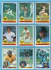1983 Topps Complete Set of 792 Baseball Cards NM