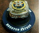 Houston Astros 2017 World Series Championship Ring From Minute Maid Park SGA