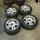 Used 18x8 Volkswagen Touareg 5x130 57 Silver W Tire Wheels set4