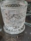 WILLIAM YEOWARD CRYSTAL GLASS ELABORATE FOOTED VASE 425H Cup Vase MINT