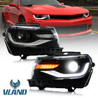 VLAND LED Headlights For 2014 2015 Chevy Camaro LS LT SS Front Lamps Projectors