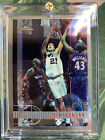 1997-98 Tim Duncan Topps Chrome #115 Spurs RC Rookie HOF NO GREENING! PSA BGS