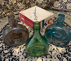 Lot Of 3 Wheaton Glass 8 Decanter Bottles Presidential Series from 70s