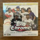 NEW 2020 Topps Chrome Update Mega Box Factory Sealed Luis Robert Qty Available