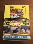 1991 Topps Desert Storm Trading Cards Box Victory Series 36 Packs Unopened
